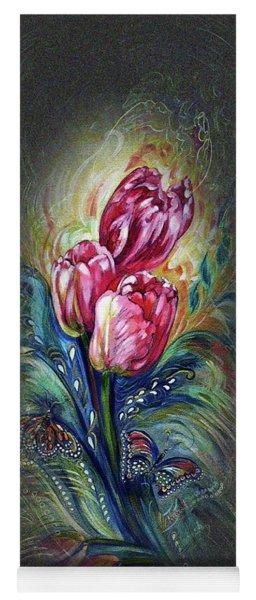 Tulips Fantasy Yoga Mat