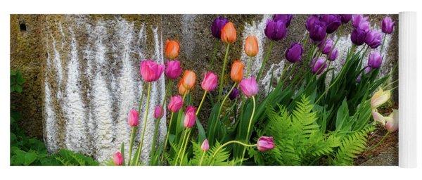 Tulips In Ruin Yoga Mat
