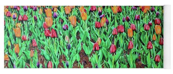 Tulips Tulips Everywhere Yoga Mat