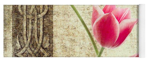 Tulips Vintage  Yoga Mat