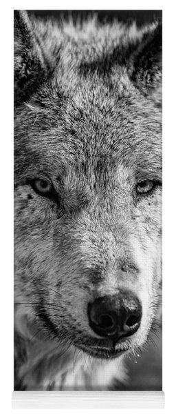 Tundra Wolf Yoga Mat