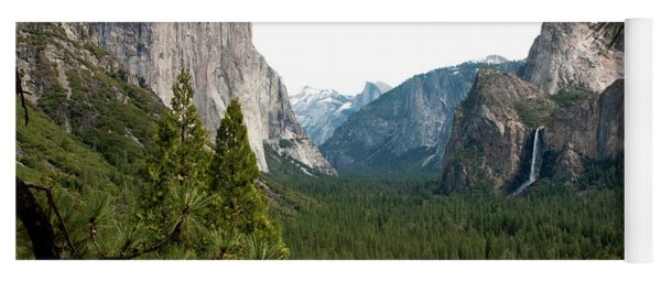 Tunnel View Framed Yoga Mat