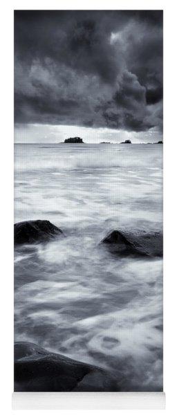 Turbulent Seas Yoga Mat