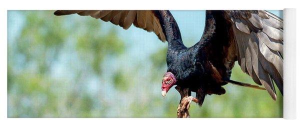 Turkey Vulture Yoga Mat