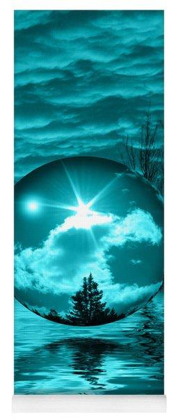Turquoise Dreams Yoga Mat