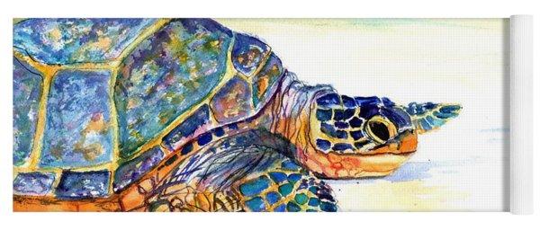 Turtle At Poipu Beach 2 Yoga Mat