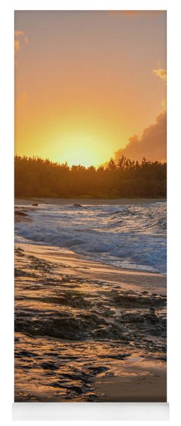 Turtle Bay Sunset 3 Yoga Mat