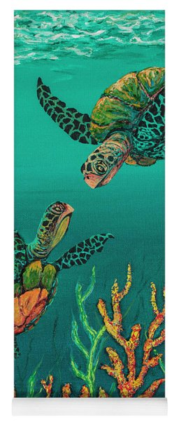 Turtle Love Yoga Mat