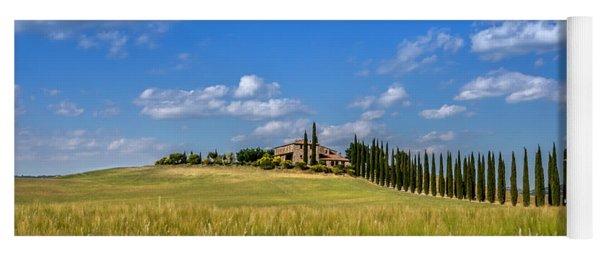 Tuscan Estate 2 Yoga Mat