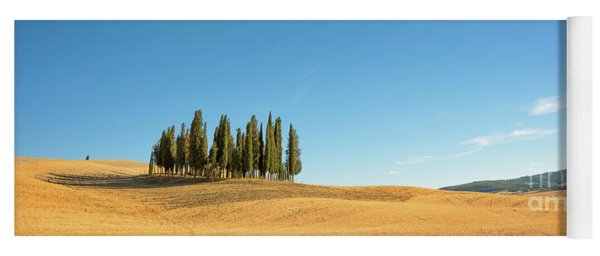 Tuscan Panorama Yoga Mat