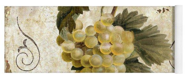 Tuscan Table Blanc Wine Yoga Mat