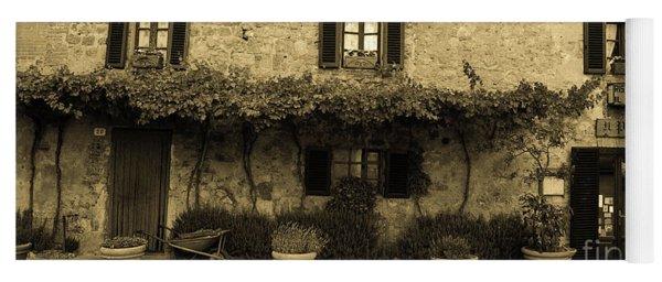 Tuscan Village Yoga Mat