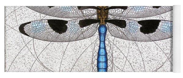 Twelve Spotted Skimmer Yoga Mat