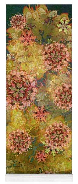 Twilight Blossom Bouquet Yoga Mat