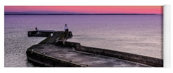 Twilight, Burghead Harbour Yoga Mat