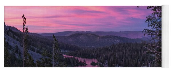 Twilight Mammoth Lakes  Yoga Mat