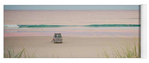 Twilight On The Beach Yoga Mat