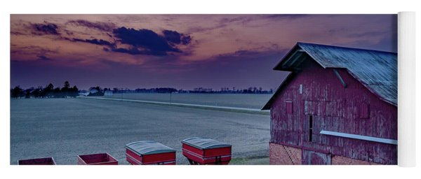 Twilight On The Farm Yoga Mat