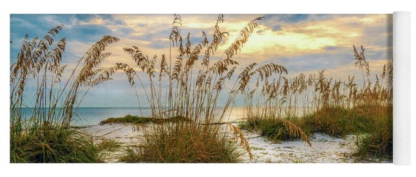 Twilight Sea Oats Yoga Mat