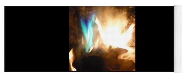 Twin Flame Yoga Mat