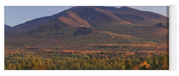 Twin Mountain Autumn Sunset Yoga Mat
