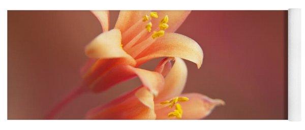 Twin Yucca Flowers Yoga Mat