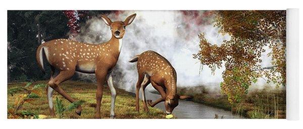 Two Deers Yoga Mat