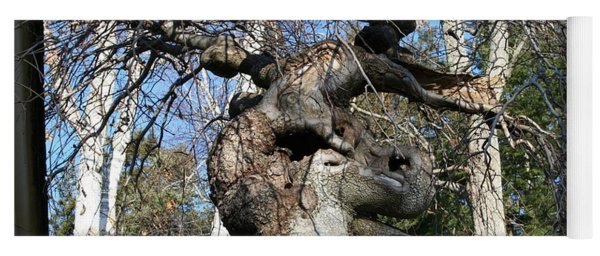 Two Elephants In A Tree Yoga Mat