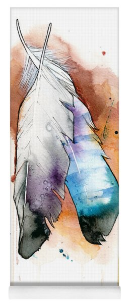 Two Feathers Yoga Mat