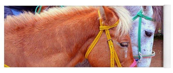 Two Horses Yoga Mat