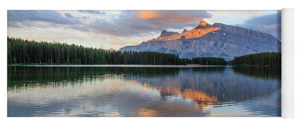 Two Jack Lake, Banff National Park Yoga Mat