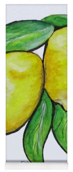Two Lemons Yoga Mat