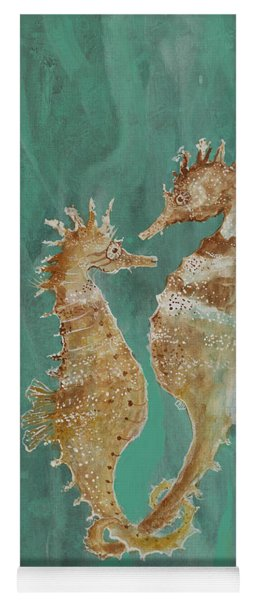 Two Seahorse Lovers Yoga Mat