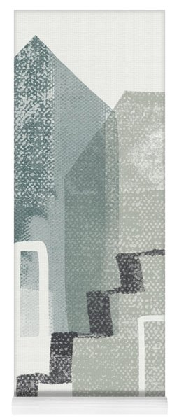 Two Tall Houses- Art By Linda Woods Yoga Mat