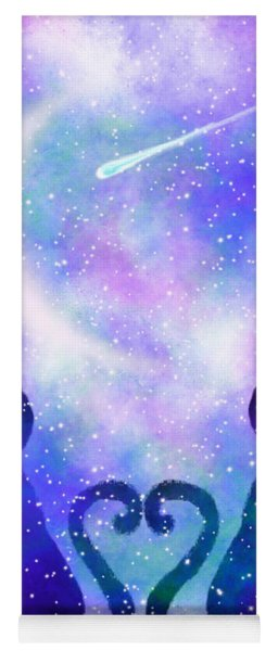 Two Wishing On A Star Yoga Mat