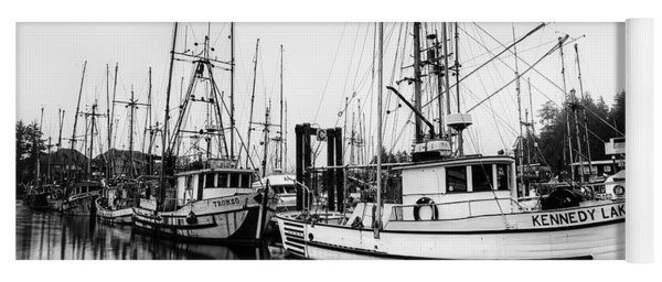 Ucluelet Harbour - Vancouver Island Bc Yoga Mat