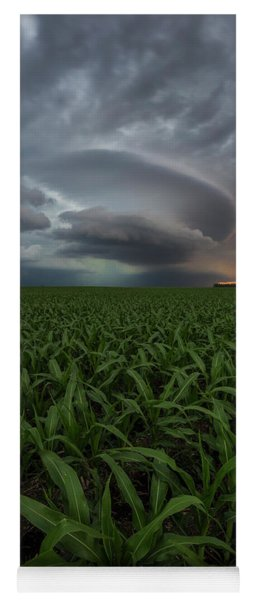 Yoga Mat featuring the photograph UFO by Aaron J Groen