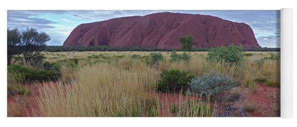 Uluru - Clouds Yoga Mat