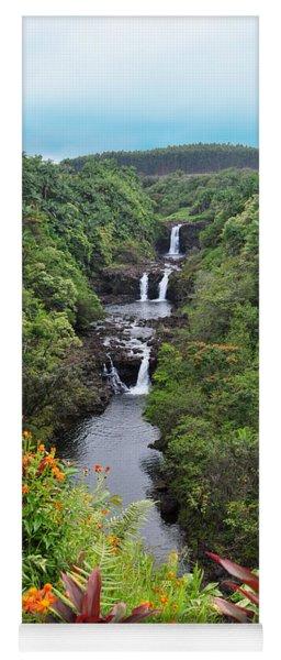 Umauma Falls Hawaii Yoga Mat