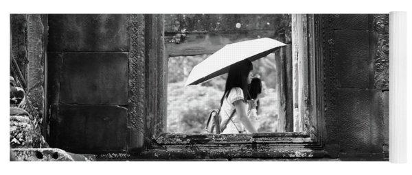 Umbrella Angkor Wat  Yoga Mat