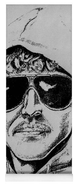 Unabomber Ted Kaczynski Police Sketch 1 Yoga Mat