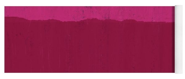 Undaunted Pink 2- Art By Linda Woods Yoga Mat