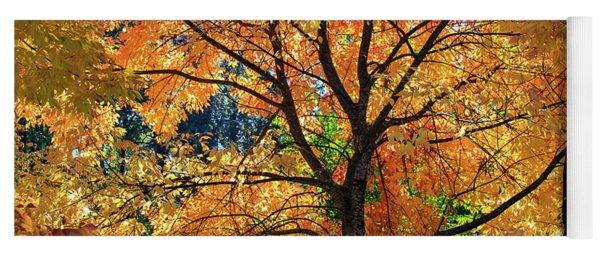 Under The Golden Tree Yoga Mat