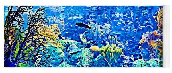 Under Water Yoga Mat