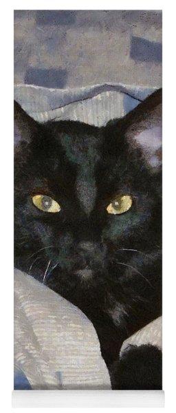 Undercover Kitten Yoga Mat