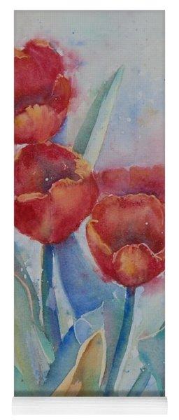 Undersea Tulips Yoga Mat