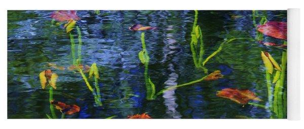 Underwater Lilies Yoga Mat