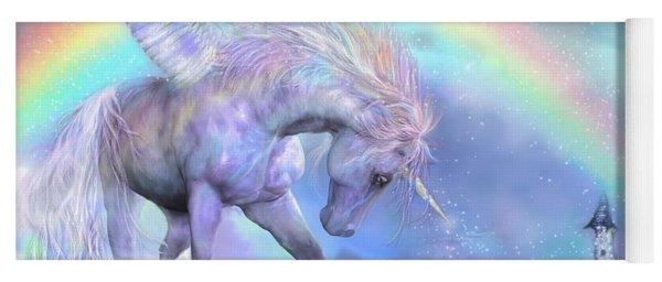 Unicorn Of The Rainbow Yoga Mat