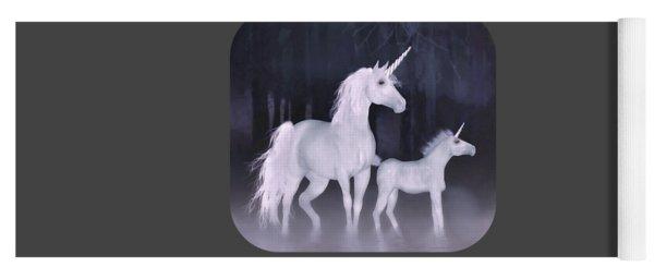 Unicorns In The Mist Yoga Mat