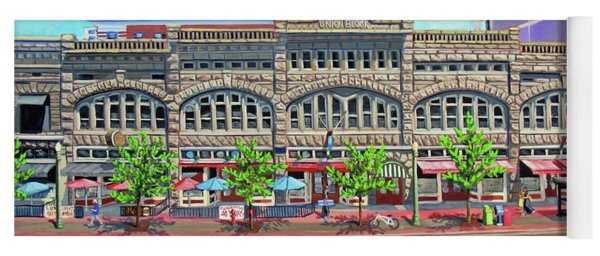 Union Block Building - Boise Yoga Mat